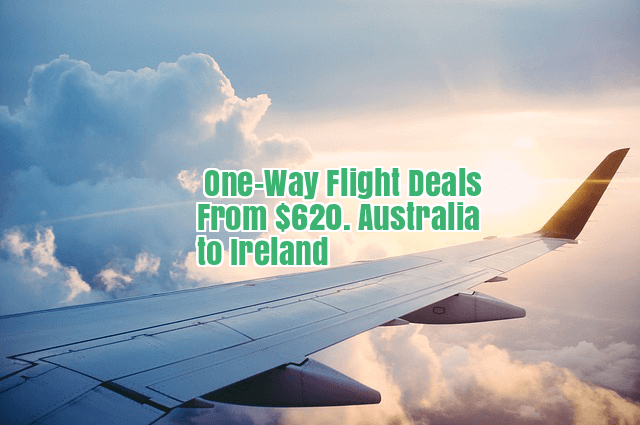 one way flights to Australia