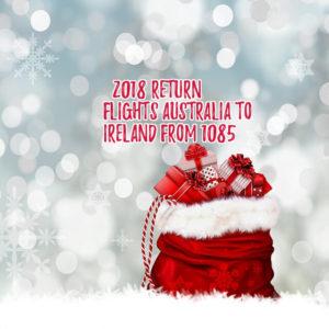 return flights Australia to ireland (1)