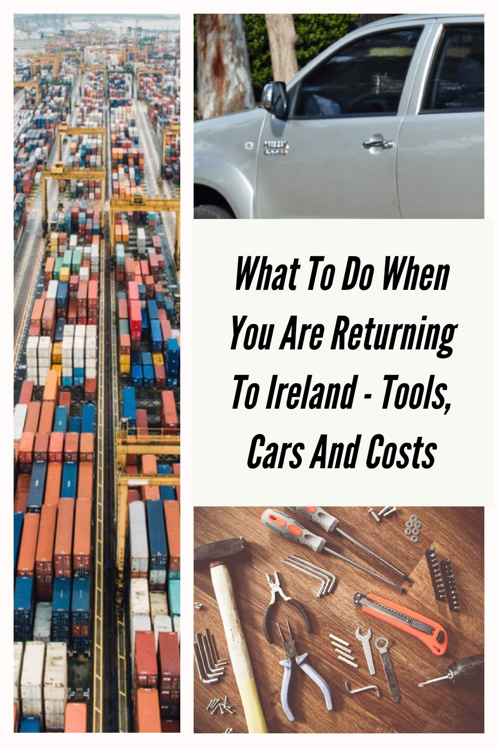 What to do when you are returning to Ireland