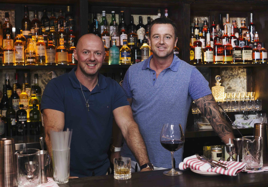 new underground whiskey bar in Sydney