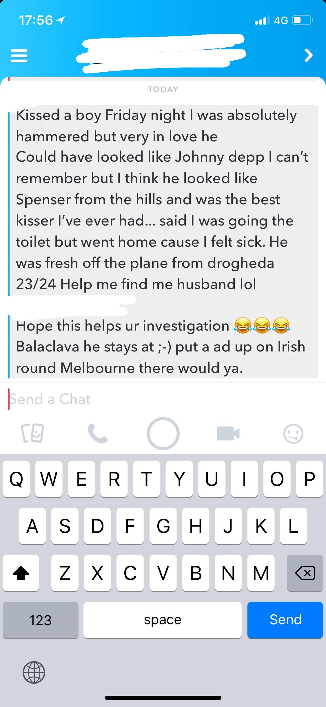 Mystery Girl Irish Around Melbourne