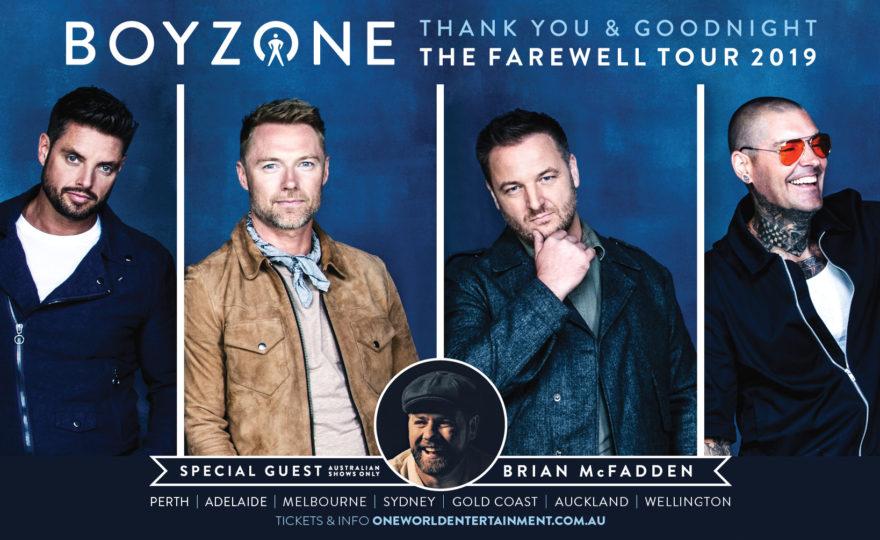 Boyzone are coming to Australia