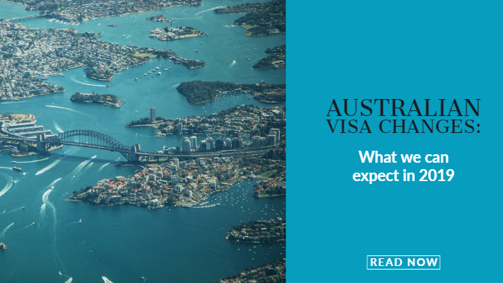 Australian visa changes and what to expect in 2019
