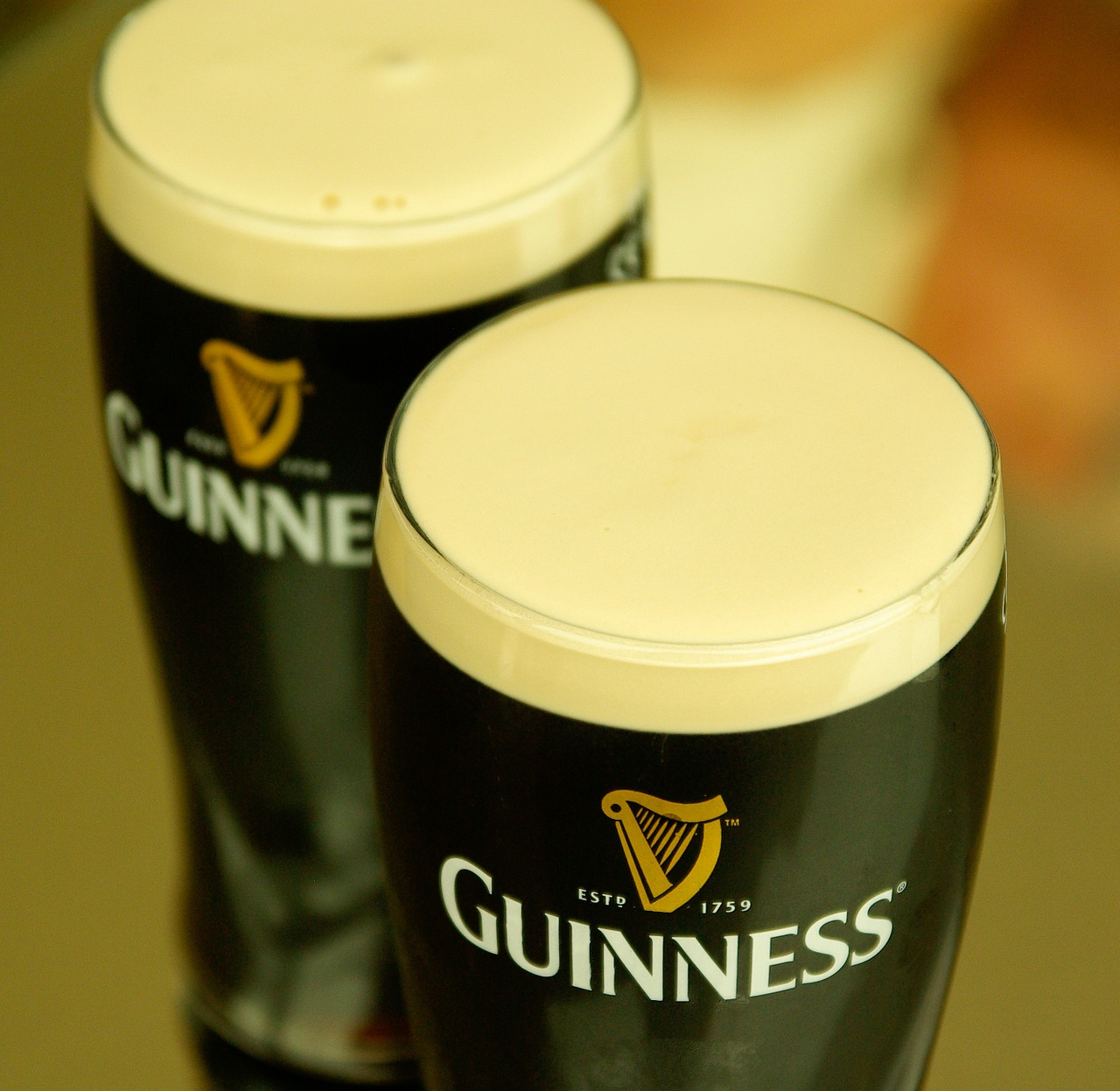 Groove bar, Crown is shouting you a Guinness if your name contains any variant of Patrick