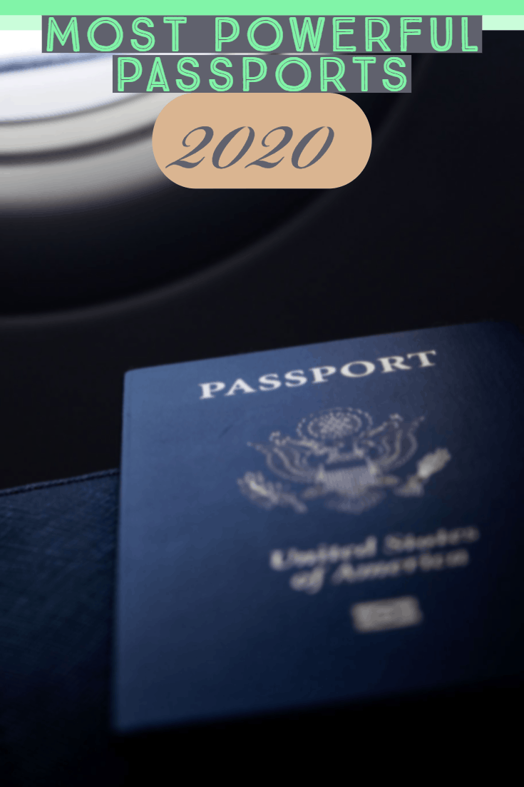 The most powerful passports 2020 Ranked