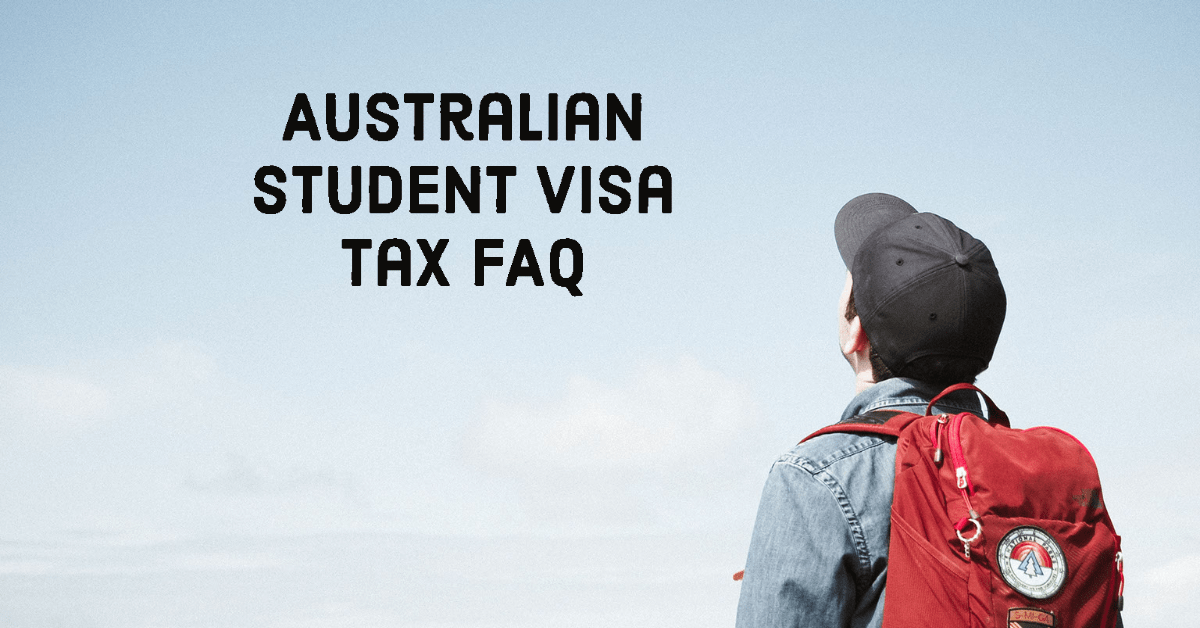 Australian visa tax faq